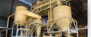 complete wood pellet mills project